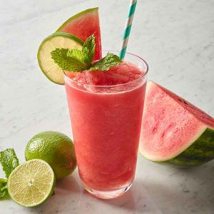 Watermelon Coconut Slushie