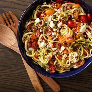 Italian Zoodle Salad
