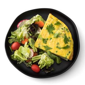 Potato and Pea Frittata