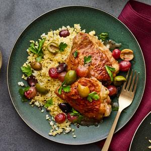 Mediterranean Chicken with Couscous