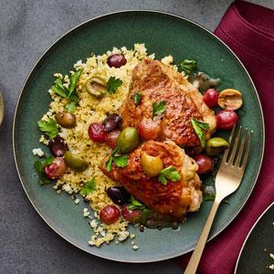 Mediterranean Chicken with Couscous