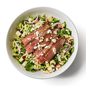 Harvest Orzo Salad with Flank Steak