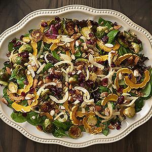 Roasted Fall Vegetable Salad