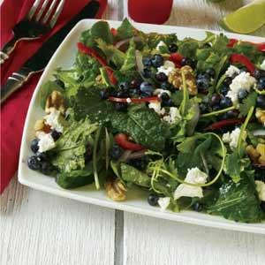 David Turin's Super Food Salad with Maple Sesame and Ginger Dressing