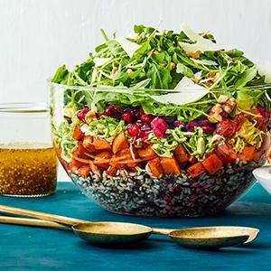 Overnight Winter Salad