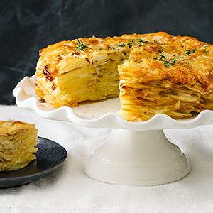 Potato-Leek Tart
