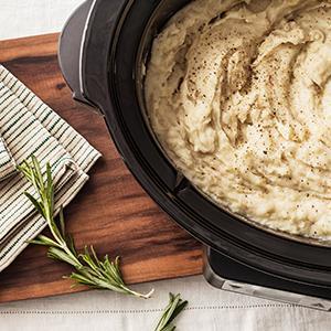 Slow-Cooker Garlic Mashed Potatoes