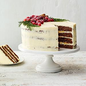 Gingerbread Layer Cake with Mascarpone Buttercream
