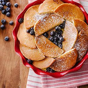 Lemon-Ricotta Pancake Bake