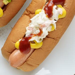 Kerry Altiero's Southern-style BBQ Slaw Dogs