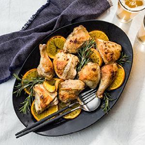 Beer-Marinated Roast Chicken