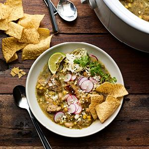 Slow-Cooker Green Chili with Pork
