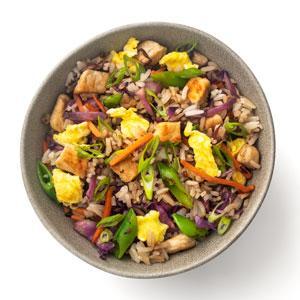 Pork and Veggie Fried Rice