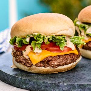 Smash Burgers with Secret Sauce