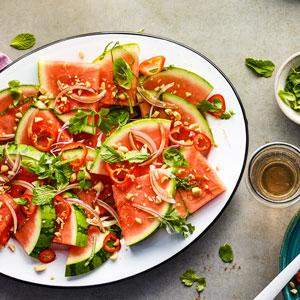 Thai-Style Watermelon Wedges