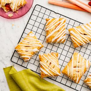 "Strawberry-Rhubarb ""Toaster Pastries"""