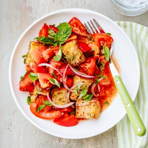 Tomato and Ciabatta Panzanella