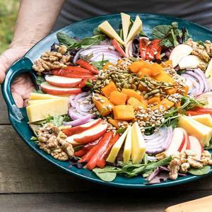 Layered Fall Salad