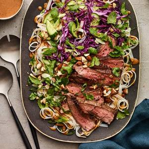 Spicy Steak and Noodle Salad