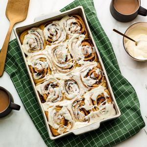 Make-Ahead Cinnamon Spice Rolls