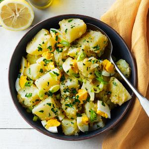 Lemony Potato and Egg Salad