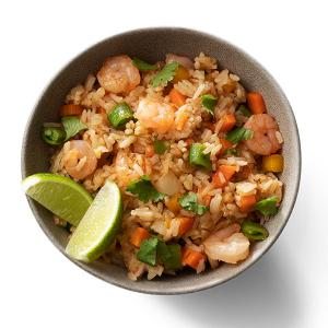 Tropical Shrimp Fried Rice