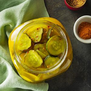 Zesty Bread-and-Butter Pickles