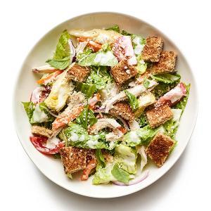Mediterranean Chopped Salad with Chicken