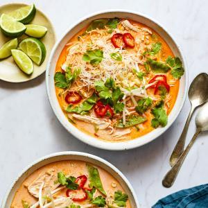 Quick Coconut Curry Soup