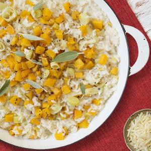 """Chef David Turin's """"25 Minute"""" Fall Vegetable Risotto"""