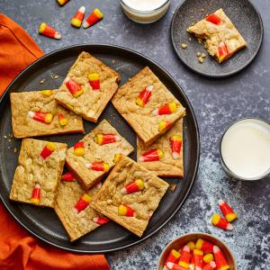 Candy Corn Blondies