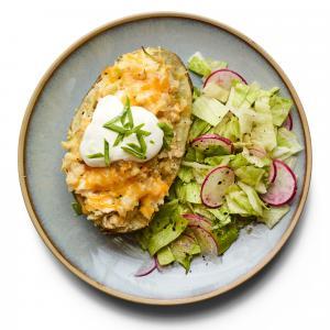 Chicken-Broccoli Twice-Baked Potatoes
