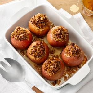 Baked Apples with Maple and Walnuts