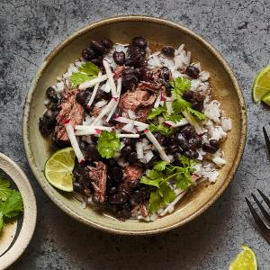 Frijol con Puerco (Pork and Black Bean Stew)
