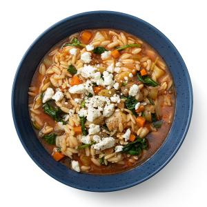 Orzo and Veggie Soup