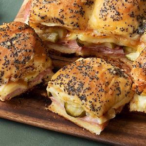 Pull-Apart Ham and Cheese Sliders