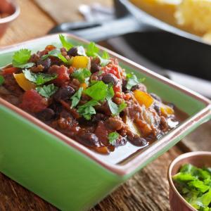 Cowboy Beef and Black Bean Chili