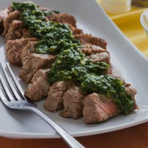 Grilled Brazilian Beef with Chimichurri