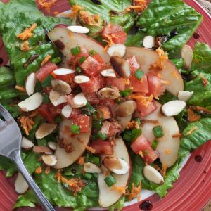 Pear Almond Salad