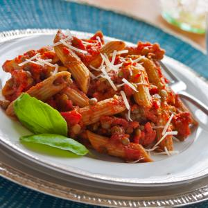 Penne with Lentils