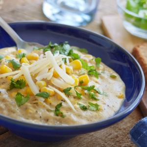 10 Minute Corn Chowder