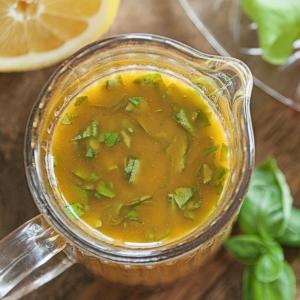 Lemon Basil Dressing