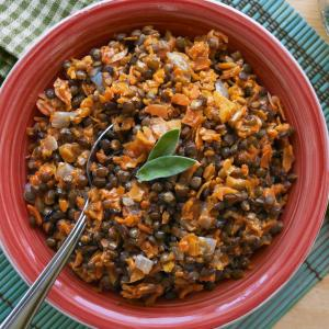 Lentils With Carrots