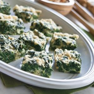 Passover Spinach Squares