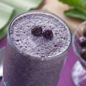 Blueberry Cocoa Smoothie