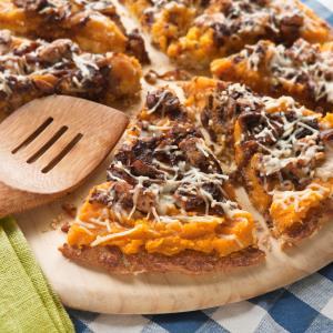Cauliflower Squash Pizza