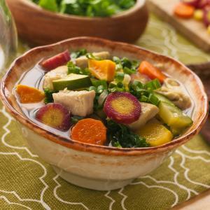 Rainbow Root Soup
