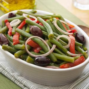 Roasted Red Pepper & Green Bean Salad