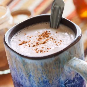 Warm Cinnamon Almond Rice Drink