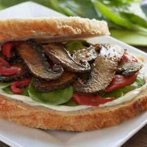 Sourdough Portobello Sandwich